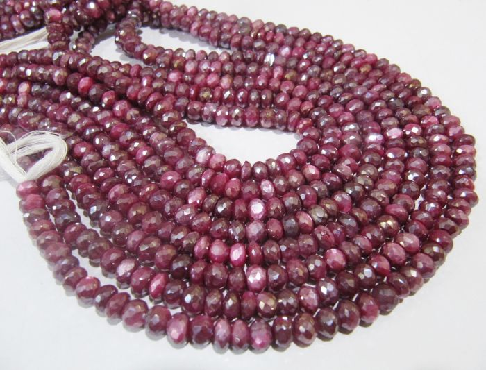 6-7MM Pink Moonstone Beads Grade AA 102737 61  30 Pcs Round Genuine Natural Gemstone Loose Beads